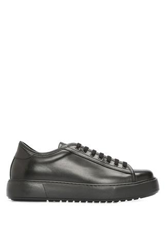 Academia Erkek Siyah Logolu Deri Sneaker 4 male 41