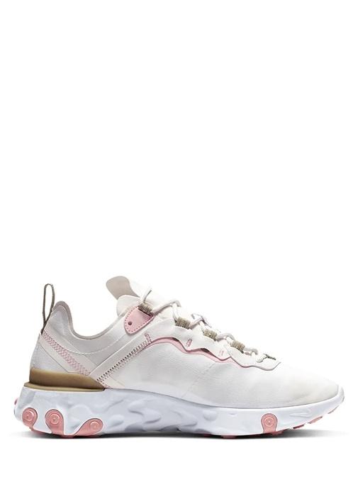 React Element 55 Bej Pembe Kadın Sneaker
