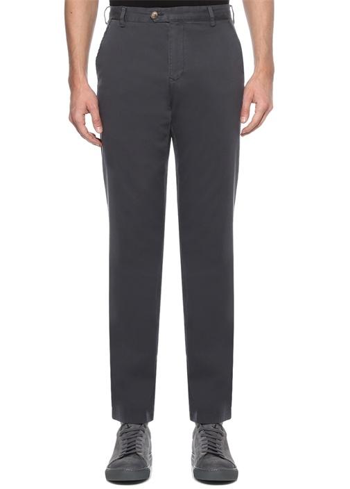 Regular Fit Antrasit Normal Bel Chino Pantolon