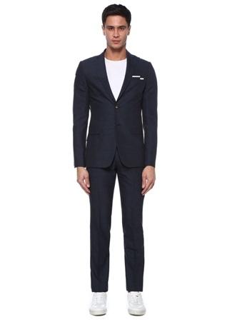 Beymen Club Erkek Drop 8 Lacivert Kelebek Yaka Takım Elbise 52 male