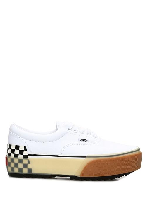 Beyaz Taban Detaylı Kadın Sneaker
