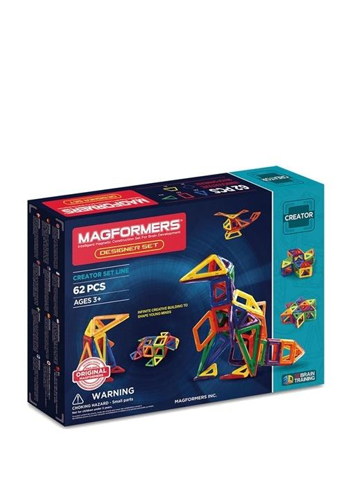Colorblocked Designer 62 Parça Puzzle Seti