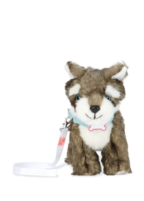 Oyuncak Husky Yavru Köpek