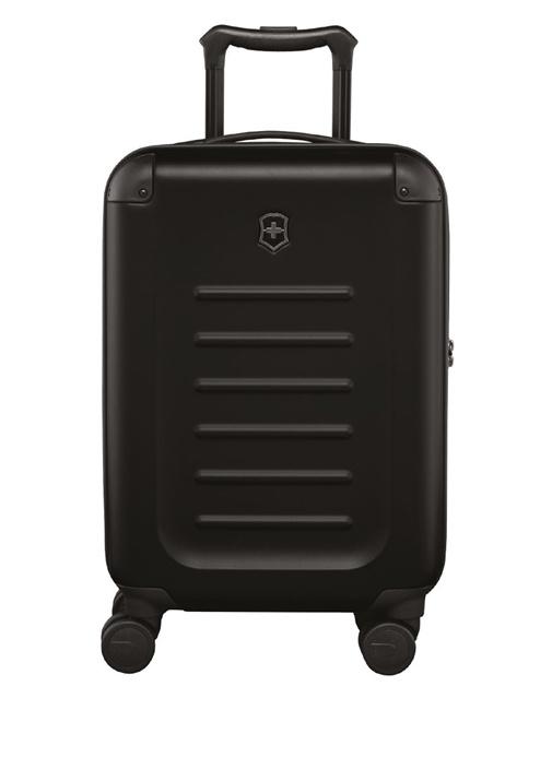 Spectra 2 0 Global Siyah Kabin Boy Erkek Bavul