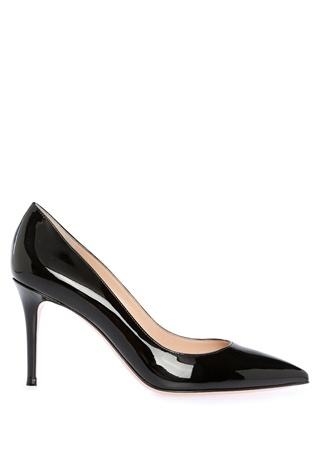 Kadın Siyah Rugan Stiletto 38.5 EU
