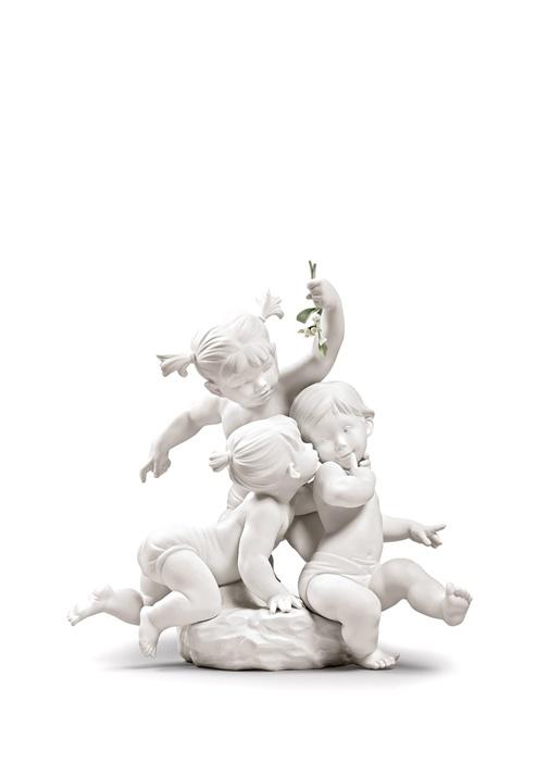 Şans Öpücüğü Porselen Dekoratif Obje