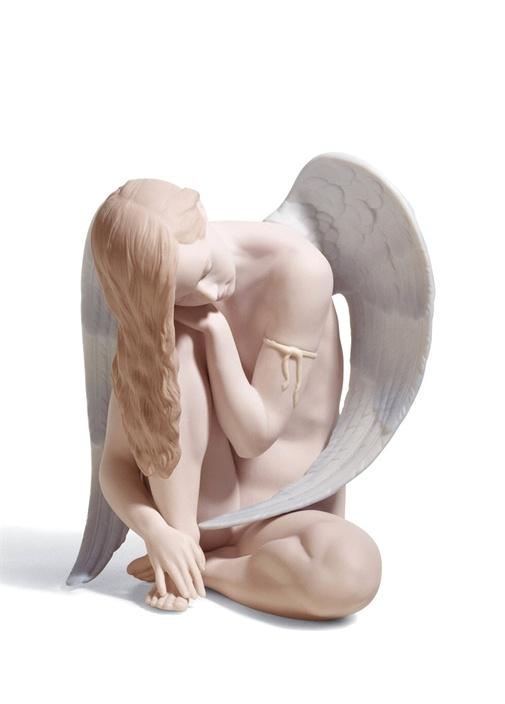 Harika Melek Formlu Porselen Obje