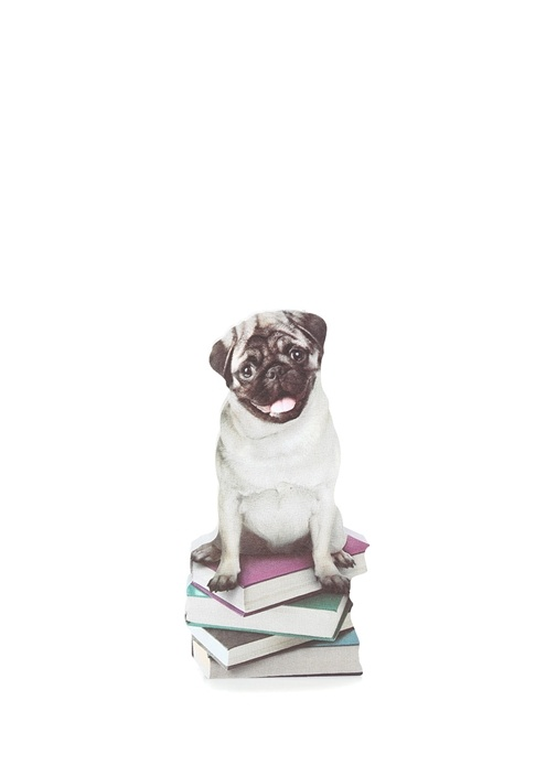 Dog In A Box Pug Post It