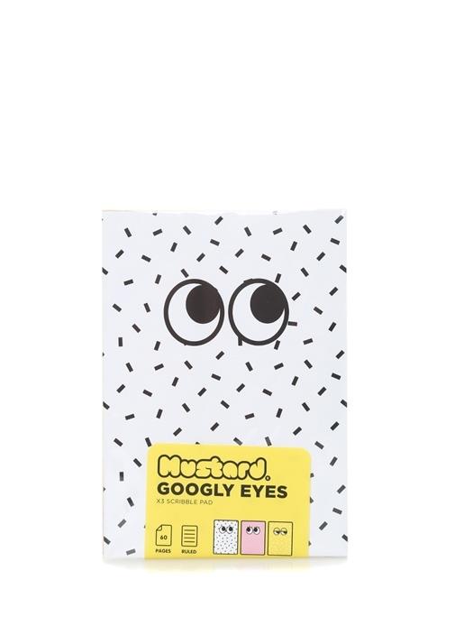 Googly Eyes 3lü A6 Not Defteri Seti