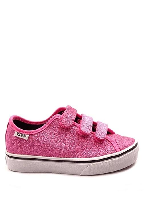 Style 23 V Pembe Simli Unisex Çocuk Sneaker