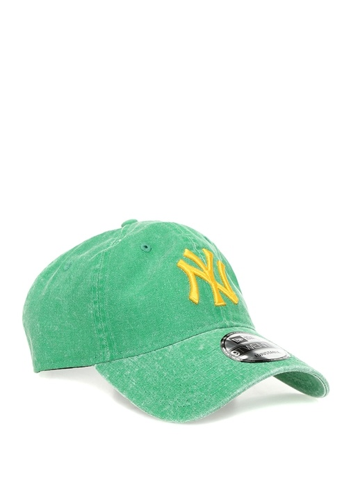 Yeşil Nakışlı Erkek Şapka