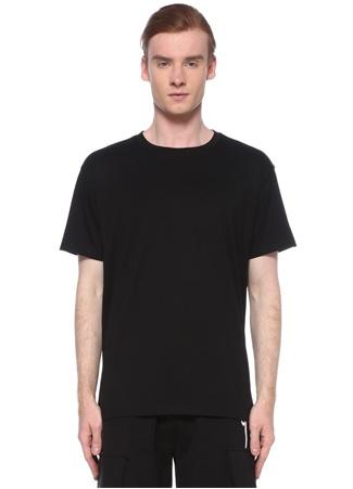 Boy London Erkek Siyah Logo Dokulu T-shirt XS EU