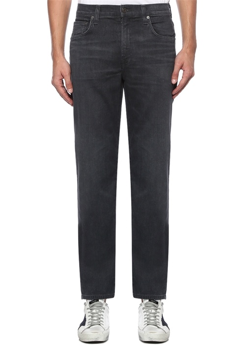 Gage Classic Straight Fit Antrasit Jean Pantolon
