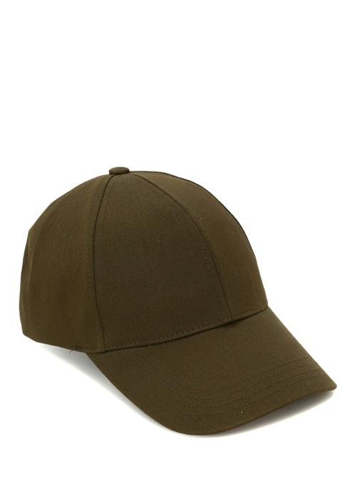 Haki Kanvas Erkek Şapka