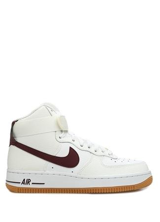 Nike Kadın Air Force High Beyaz Deri Sneaker 35.5 EU