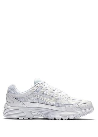 Nike Kadın P 6000 Beyaz Logolu Sneaker 36.5 EU