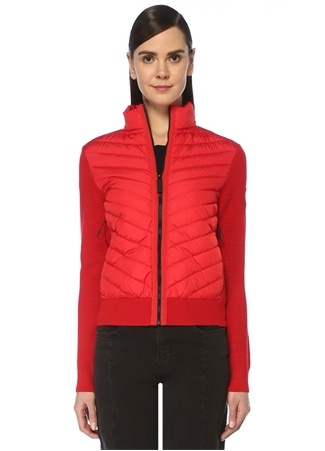 Canada Goose Kadın Hybridge Kırmızı Logolu Garnili Ceket M EU