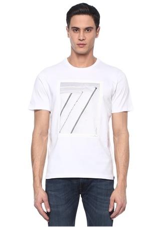 Graphic Beyaz Logolu Basic T-shirt