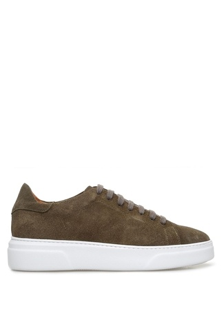 Beymen Collection Erkek Haki Süet Sneaker 4 male 41