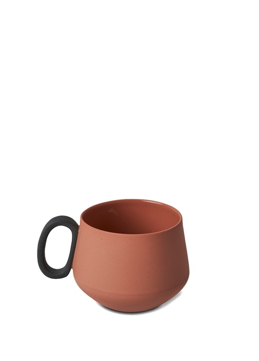 Tube El Yapımı Porselen Kahve Fincani