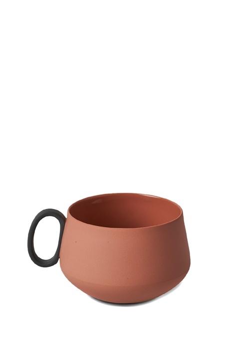 Tube El Yapımı Porselen Çay Fincanı