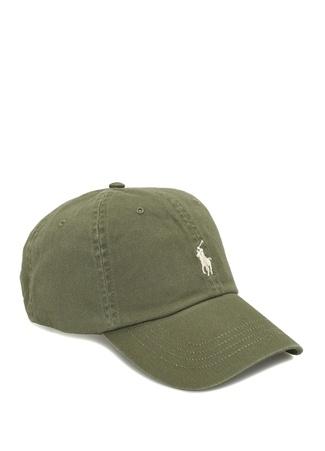 Polo Ralph Lauren Erkek Haki Logo Nakışlı Şapka EU male Standart