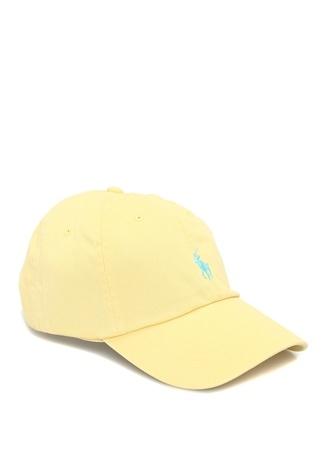 Polo Ralph Lauren Erkek Sarı Logo Nakışlı Şapka EU male Standart