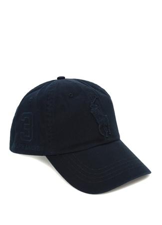 Polo Ralph Lauren Erkek Lacivert Logo Nakışlı Şapka EU male Standart