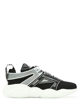 Moschino Kadın Siyah Gri Şerit Detaylı Sneaker 37 EU female