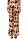 Giada Batik Desenli Bağcıklı Bol Paça Pantolon