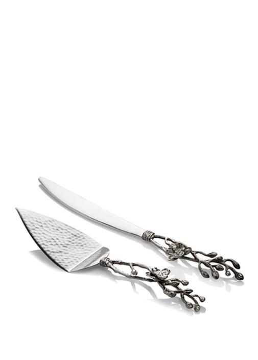 White Orchid Silver Bıçak Seti