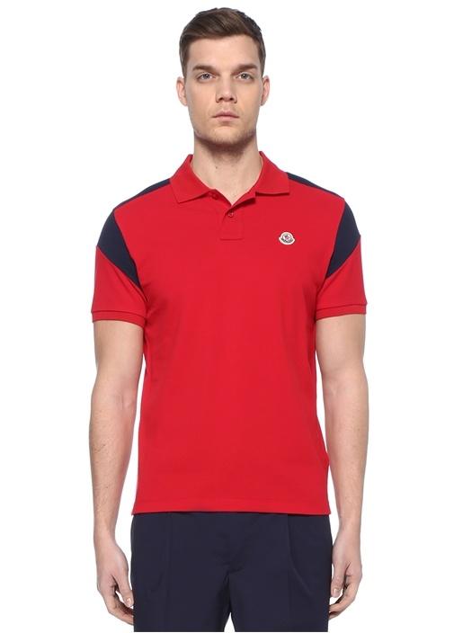 Kırmızı Lacivert Polo Yaka T-shirt