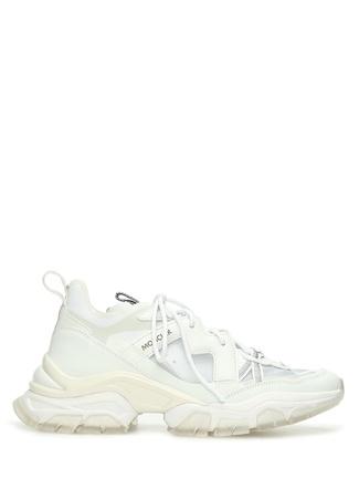 Moncler Kadın Beyaz Detaylı Deri Sneaker 39 EU female