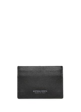 Bottega Veneta Erkek Siyah Deri Kartlık EU male Standart