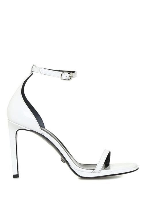 Essential Beyaz Kadın Deri Sandalet