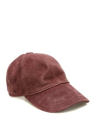 Bassigue Kadın You Can Go Now Nakışlı Bordo Süet Şapka EU female Standart