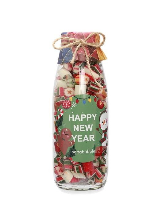 Yeni Yıl Mix 350 gr El Yapımı Süt Şişesi Şeker