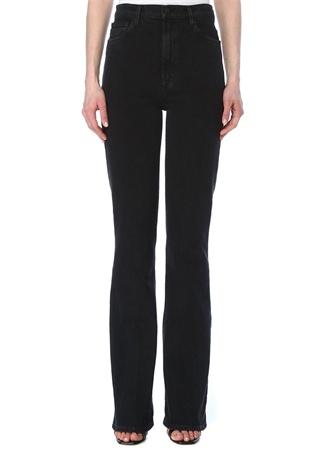 J Brand Kadın 29 Siyah Yüksek Bel Bootcut Jean Pantolon 30 US female