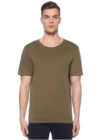 Zadig&Voltaire Erkek Haki Baskılı T-shirt S EU male