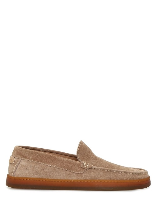 Spencer Gri Erkek Süet Loafer