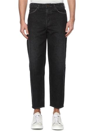 American Vintage Erkek Ozistate Siyah Yüksek Bel Boru Paça Jean Pantolon 3 EU male 31