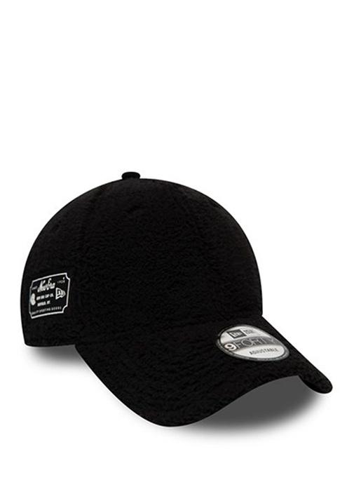 Utility Siyah Dokulu Erkek Şapka