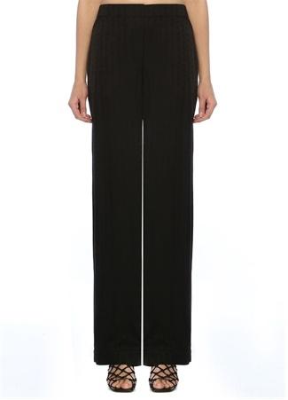 Off-White Kadın Siyah Logolu Pijama Pantolon 40 IT female