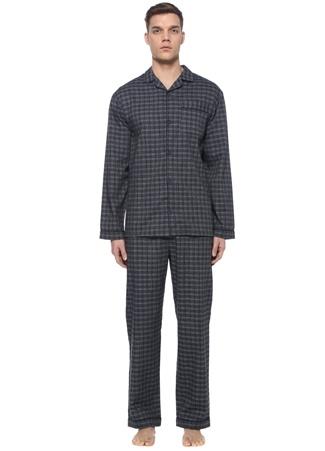 Luna Mia Erkek Wonder Uyku Gözlüklü Pijama Takımı Lacivert EU male