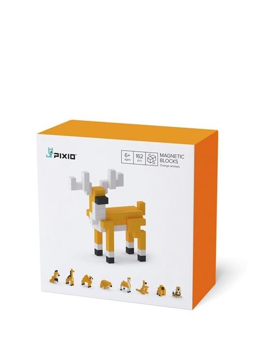 Orange Animals Manyetik Blok Oyuncak