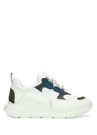 Blender Originated Kadın Beyaz File Dokulu Deri Sneaker 37 female