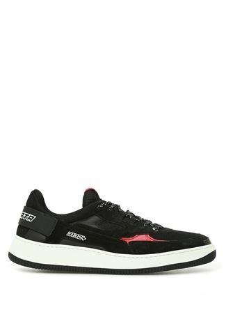 Premiata st Erkek Siyah Kontrast Logolu Sneaker 42 US 1st male
