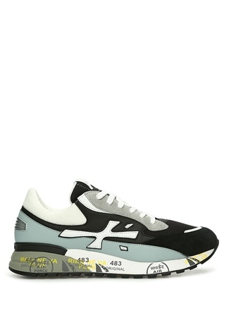Premiata Erkek Django 4683 Siyah Taban Detaylı Sneaker 44 EU male