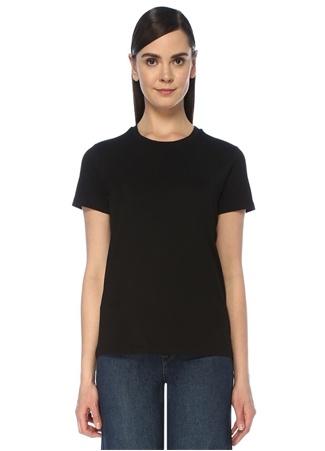 Blender Originated Kadın Siyah Bisiklet Yaka Basic T-shirt M female
