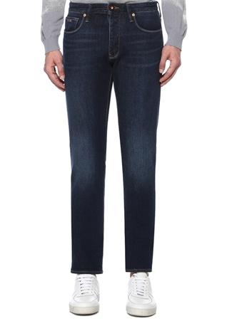 Emporio Armani Erkek Slim Fit J35 Lacivert Jean Pantolon 34 US male